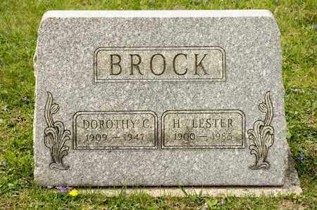 BROCK, H LESTER - Richland County, Ohio | H LESTER BROCK - Ohio Gravestone Photos