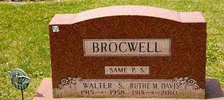 BROCWELL, RUTHE M - Richland County, Ohio | RUTHE M BROCWELL - Ohio Gravestone Photos