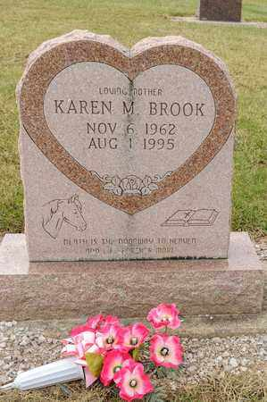 BROOK, KAREN M - Richland County, Ohio | KAREN M BROOK - Ohio Gravestone Photos