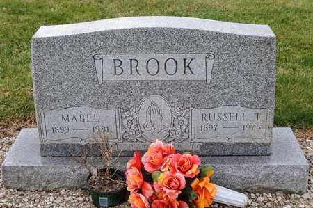 BROOK, RUSSELL T - Richland County, Ohio | RUSSELL T BROOK - Ohio Gravestone Photos