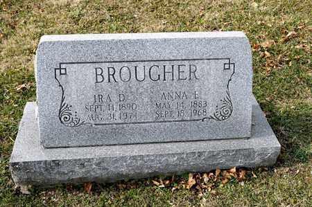 BROUGHER, IRA D - Richland County, Ohio | IRA D BROUGHER - Ohio Gravestone Photos