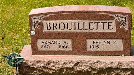 BROUILLETTE, ARMAND A - Richland County, Ohio | ARMAND A BROUILLETTE - Ohio Gravestone Photos