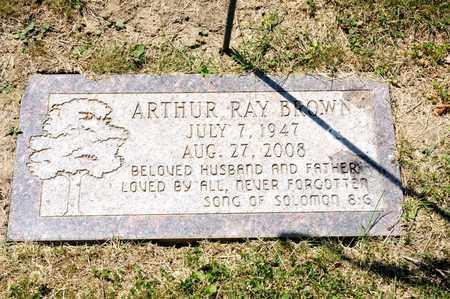 BROWN, ARTHUR RAY - Richland County, Ohio | ARTHUR RAY BROWN - Ohio Gravestone Photos