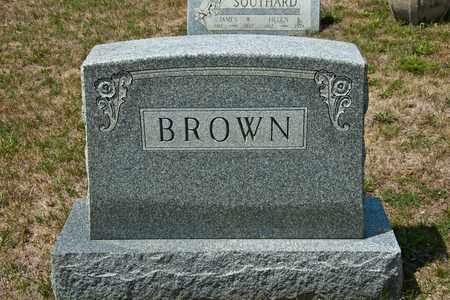 BROWN, ANNA M - Richland County, Ohio | ANNA M BROWN - Ohio Gravestone Photos
