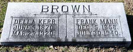 BROWN, FRANK MANN - Richland County, Ohio | FRANK MANN BROWN - Ohio Gravestone Photos