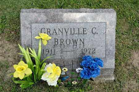 BROWN, FRANVILLE C - Richland County, Ohio | FRANVILLE C BROWN - Ohio Gravestone Photos