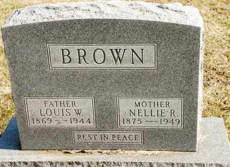 BROWN, LOUIS W - Richland County, Ohio   LOUIS W BROWN - Ohio Gravestone Photos