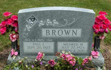 BROWN, MILDRED M - Richland County, Ohio | MILDRED M BROWN - Ohio Gravestone Photos