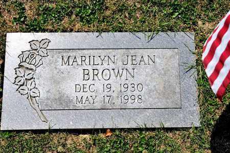 BROWN, MARILYN JEAN - Richland County, Ohio | MARILYN JEAN BROWN - Ohio Gravestone Photos