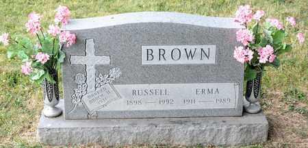 BROWN, ERMA - Richland County, Ohio | ERMA BROWN - Ohio Gravestone Photos
