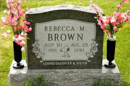 BROWN, REBECCA M - Richland County, Ohio | REBECCA M BROWN - Ohio Gravestone Photos
