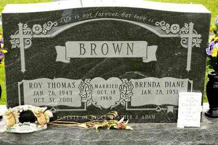 BROWN, ROY THOMAS - Richland County, Ohio | ROY THOMAS BROWN - Ohio Gravestone Photos