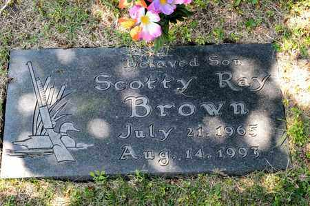 BROWN, SCOTTY RAY - Richland County, Ohio | SCOTTY RAY BROWN - Ohio Gravestone Photos