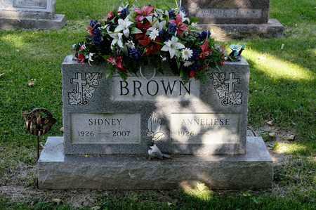 BROWN, SIDNEY - Richland County, Ohio   SIDNEY BROWN - Ohio Gravestone Photos