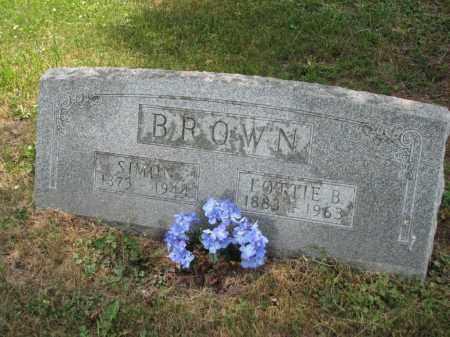BROWN, LOTTIE B. - Richland County, Ohio | LOTTIE B. BROWN - Ohio Gravestone Photos