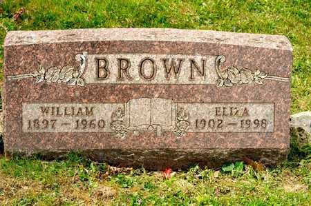 BROWN, ELIZA - Richland County, Ohio   ELIZA BROWN - Ohio Gravestone Photos