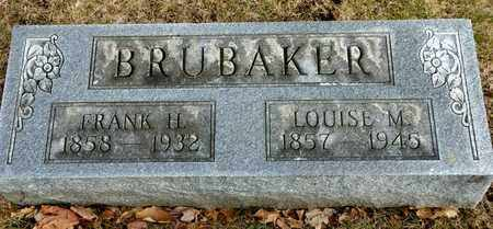 BRUBAKER, FRANK H - Richland County, Ohio | FRANK H BRUBAKER - Ohio Gravestone Photos