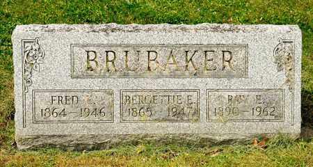 BRUBAKER, BERGETTIE E - Richland County, Ohio   BERGETTIE E BRUBAKER - Ohio Gravestone Photos