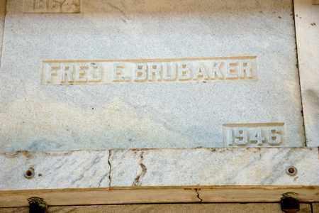 BRUBAKER, FRED E - Richland County, Ohio   FRED E BRUBAKER - Ohio Gravestone Photos