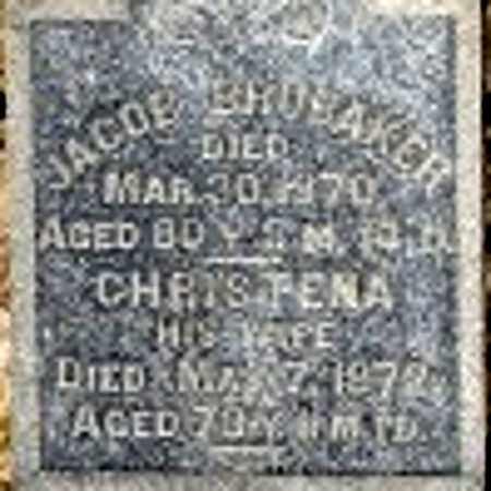 BRUBAKER, CHRSTENA - Richland County, Ohio   CHRSTENA BRUBAKER - Ohio Gravestone Photos