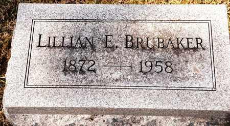 BRUBAKER, LILLIAN E - Richland County, Ohio   LILLIAN E BRUBAKER - Ohio Gravestone Photos