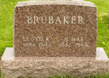 BRUBAKER, V MAE - Richland County, Ohio   V MAE BRUBAKER - Ohio Gravestone Photos