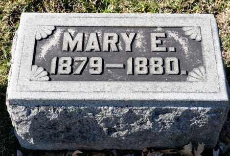 BRUBAKER, MARY E - Richland County, Ohio | MARY E BRUBAKER - Ohio Gravestone Photos