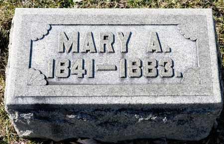 BRUBAKER, MARY A - Richland County, Ohio | MARY A BRUBAKER - Ohio Gravestone Photos