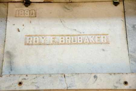 BRUBAKER, ROY E - Richland County, Ohio | ROY E BRUBAKER - Ohio Gravestone Photos