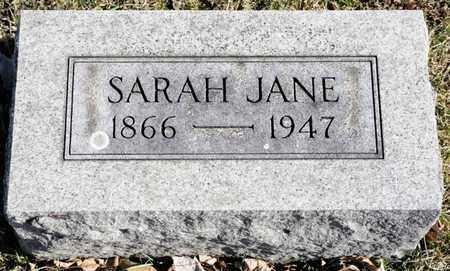 BRUBAKER, SARAH JANE - Richland County, Ohio | SARAH JANE BRUBAKER - Ohio Gravestone Photos
