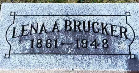 BRUCKER, LENA A - Richland County, Ohio | LENA A BRUCKER - Ohio Gravestone Photos