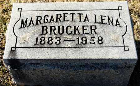 BRUCKER, MARGARETTA LENA - Richland County, Ohio | MARGARETTA LENA BRUCKER - Ohio Gravestone Photos