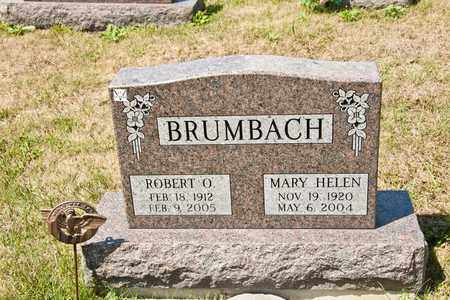 BRUMBACH, ROBERT O - Richland County, Ohio | ROBERT O BRUMBACH - Ohio Gravestone Photos