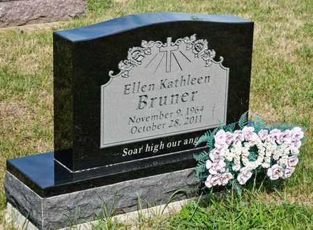 BRUNER, ELLEN KATHLEEN - Richland County, Ohio | ELLEN KATHLEEN BRUNER - Ohio Gravestone Photos