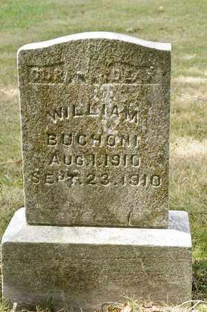 BUCHONI, WILLIAM - Richland County, Ohio | WILLIAM BUCHONI - Ohio Gravestone Photos