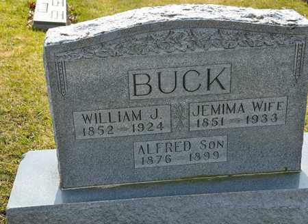 BUCK, WILLIAM J - Richland County, Ohio | WILLIAM J BUCK - Ohio Gravestone Photos