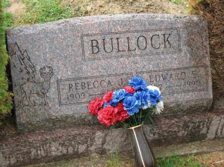 BULLOCK, EDWARD E. - Richland County, Ohio | EDWARD E. BULLOCK - Ohio Gravestone Photos