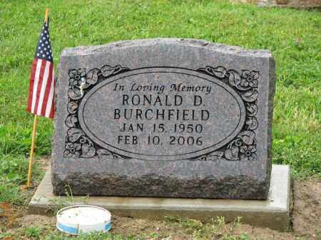BURCHFIELD, RONALD D. - Richland County, Ohio | RONALD D. BURCHFIELD - Ohio Gravestone Photos