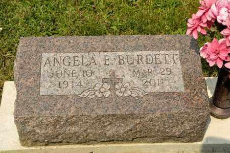 BURDETT, ANGELA E - Richland County, Ohio   ANGELA E BURDETT - Ohio Gravestone Photos