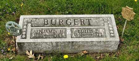 BURGERT, BENJAMIN H - Richland County, Ohio | BENJAMIN H BURGERT - Ohio Gravestone Photos