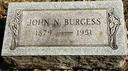 BURGESS, JOHN N - Richland County, Ohio | JOHN N BURGESS - Ohio Gravestone Photos