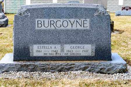BURGOYNE, ESTELLA A - Richland County, Ohio | ESTELLA A BURGOYNE - Ohio Gravestone Photos