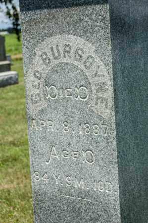 BURGOYNE, GEORGE - Richland County, Ohio | GEORGE BURGOYNE - Ohio Gravestone Photos
