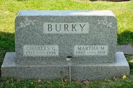 BURKY, CHARLES G - Richland County, Ohio   CHARLES G BURKY - Ohio Gravestone Photos