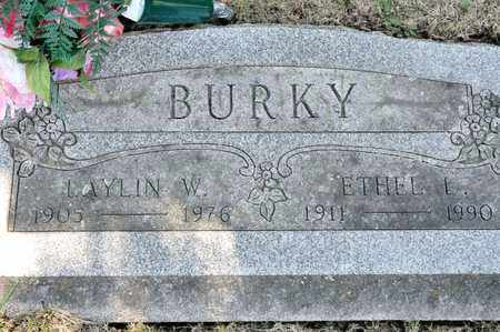BURKY, LAYLIN W - Richland County, Ohio | LAYLIN W BURKY - Ohio Gravestone Photos