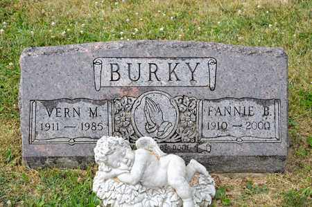 BURKY, VERN M - Richland County, Ohio | VERN M BURKY - Ohio Gravestone Photos