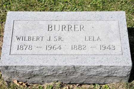 BURRER, LELA - Richland County, Ohio | LELA BURRER - Ohio Gravestone Photos