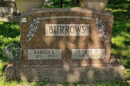 BURROWS, HAROLD G - Richland County, Ohio | HAROLD G BURROWS - Ohio Gravestone Photos