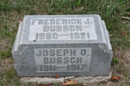 BURSCH, JOSEPH O - Richland County, Ohio | JOSEPH O BURSCH - Ohio Gravestone Photos