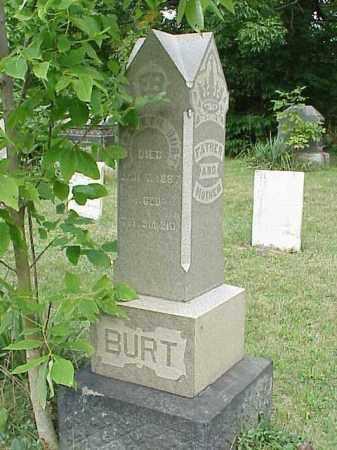 BURT, ELIZABETH - Richland County, Ohio | ELIZABETH BURT - Ohio Gravestone Photos
